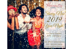 Starry New 2019 Year Night!