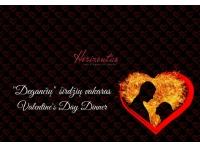 "Romantic Valentine Dinner At The Restaurant ""Horizontas"""
